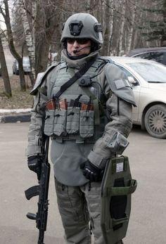Новая российская боевая экипировка