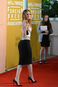Jennifer Lawrence Photos: Hollywood Foreign Press Association's 2012 Installation Luncheon - Arrivals