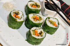 sushi vegetariano, ricetta vegana, My cooking idea