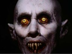 This guy always scared the tar out of me as a kid! Salem's Lot (1979) Reggie Nalder (as Kurt Barlow the Vampyr)