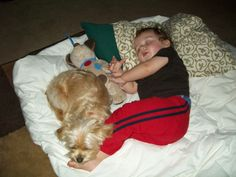 Sleeping with Caiden