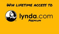 Win lifetime access to Lynda! (retail $3,600+)
