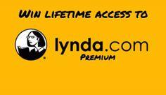 Win lifetime access to Lynda! (retail $3,600+)