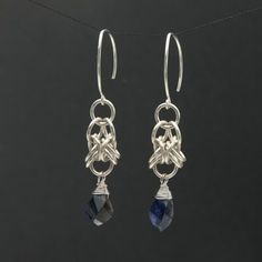 Orbital Chain Maille Earrings