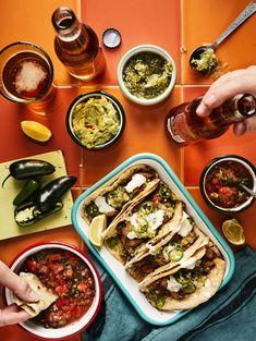 Chipotle-broileritacot   Kana, Juhli ja nauti   Soppa365 First Kitchen, Carne Asada, Halloumi, Barbacoa, Tex Mex, Chipotle, Dinner Tonight, Palak Paneer, Guacamole