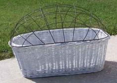 dog baskets for a bike | Front Bike Basket w/cage top for a dog - $20 (Winter Haven) for Sale ...