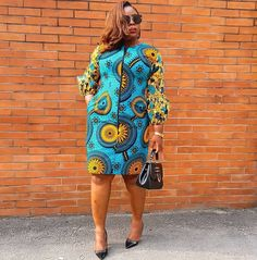 The image may contain: one person or more and people standing . Ankara Dress Designs, African Print Dress Designs, African Print Dresses, African Print Fashion, Africa Fashion, Latest African Fashion Dresses, African Dresses For Women, African Attire, African Wear