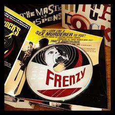 Frenzy - Hitchcock Blu-ray set