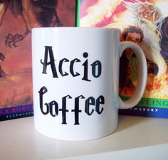Harry Potter Accio Coffee Mug | Community Post: The 30 Most Perfect Gifts For Your Biggest Harry Potter Friends This Holiday Season