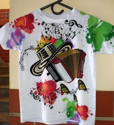 Mens Tops, T Shirt, Art, Fashion, Sewing Ideas, Painted Clothes, Flannels, Supreme T Shirt, Art Background