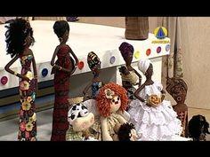 Mulher.com 18/02/2013 Mabel Fernanda de Oliveira - Boneca africana Parte 2/2 - YouTube