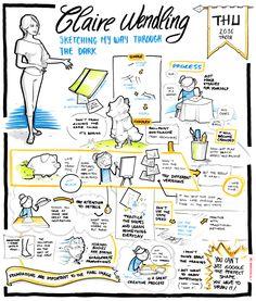 Claire Wendling - Sketching my way through the dark