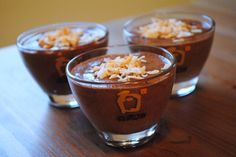 Chocolate Sabayon Puddings by Duo Dishes