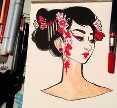 Geisha- Jacquelindeleon