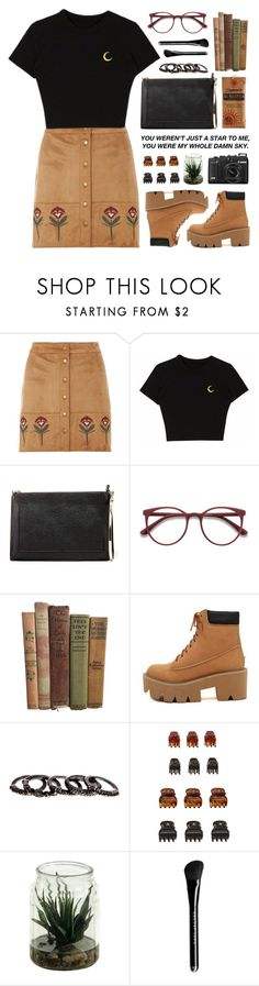 """""""Full Moon"""" by tania-maria ❤ liked on Polyvore featuring Dorothy Perkins, Zara, EyeBuyDirect.com, Free Press, Forever 21 and Marc Jacobs"""