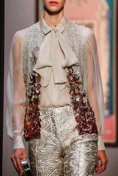 Schiaparelli Fall 2015 Couture Fashion Show Paris Fashion, Runway Fashion, High Fashion, Fashion Show, Fashion Outfits, Womens Fashion, Fashion Trends, Couture Details, Fashion Details