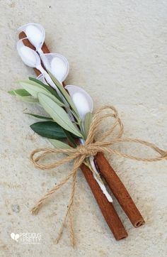 Ancient Greek Style Wedding Favors with Olive leaves Minimum