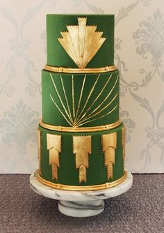 Art Deco Wedding Ideas | Details + Decor, Favors + Gifts, Flowers + Greenery, Pretty Paper, Wedding Wardrobe | 100 Layer Cake