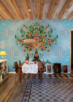 Catalina Estrada  Dining room