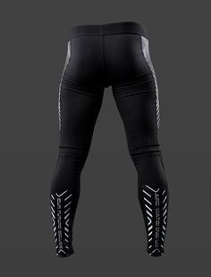 Future Self Men's Cyberpunk Compression Tights – Damascus Apparel Mens Running Tights, Male Underwear, Gym Gear, Athletic Wear, Mens Fitness, Cheetah, Leather Pants, Yoga, Mens Fashion
