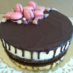 Mariannkonyha: torta Macarons, Cake, Food, Kuchen, Essen, Macaroons, Meals, Torte, Cookies
