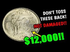 Old Coins Worth Money, Old Money, Old Coins Value, State Quarters, Valuable Coins, American Coins, Error Coins, Coin Worth, Coin Values