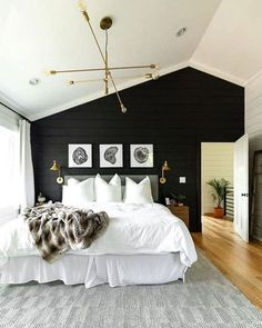 96 Small Master Bedroom Decor Ideas for Sweet And Romantic Couples #smallmasterbedroom #bedroomdecor #couples ~ aacmm.com