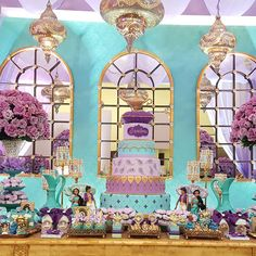 #festainfantil #jasmine #jasmineparty #isadora8th #cake #festademenina #cumpleanos #candicefragosopelobrasil #decoracaofestainfantil #disney #candicefragoso2015 #encontrandoideias #queridadata #festejarcomamor #maefesteira