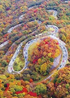 Chaloos Road, Iran One of the most Beautiful and Colourful Road on Earth