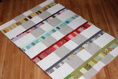 A scrappy wedding quilt | Shiner's View