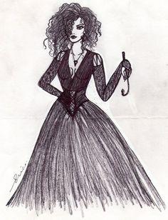 Bellatrix Lestrange Black by ericalolitablack on DeviantArt