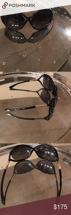 deca61bbd47 Tom Ford Whitney Sunglasses EUC Hardly worn Tom Ford Whitney sunglasses. No  case. Excellent