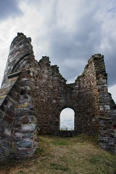 The South Tower at Tutbury Castle.