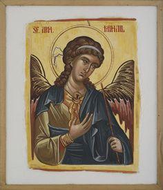 Anastasis Byzantine Icons, Orthodox Icons, Ikon, Saints, Baseball Cards, Oil Paintings, Cover, Clothing, Quotes