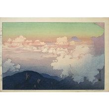 Above the Clouds - by Yoshida Hiroshi