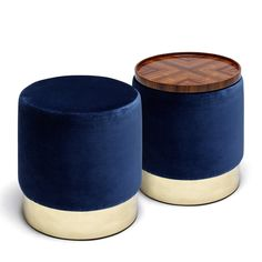 LUNE STOOLS - Contemporary Stools - Dering Hall