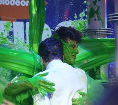 Sliming is even more fun when you've got your friends with you!  Tag a friend that you'd run into the #KCA Slime Soaker for