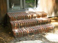 Masonry Brick Steps Completed