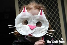 Cat mask Art Activities For Kids, Preschool Crafts, Diy Crafts For Kids, Letter C Crafts, Cat Cupcakes, Cupcake Cases, Cat Mask, Animal Masks, Kids Artwork