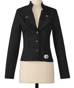 65c56b8d5 Love this Pittsburgh Steelers Twill Jacket by Meesh   Mia on  zulily!   zulilyfinds