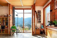 Aulets Architecture, José Hevia · House in Bunyola Contemporary Architecture, Architecture Design, Architectural Technologist, Ceramic Workshop, Construction Process, Flat Roof, Common Area, Pavilion, Living Spaces