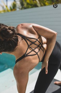 Feel free. To move, to breathe, and to be. Featuring: The Free to Be Zen Bra*Silver