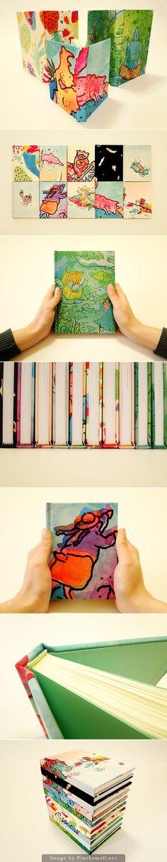 Handbound books by RAMA