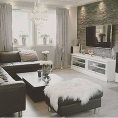 Home Decor Inspiration on Instagram: Black and white always a classic. Thank