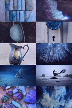 Horoscope: Aquarius, Pt. 2 - night - The Moon in a Jar