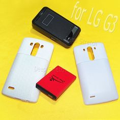 New LG G3 9100mAh Extended Double layer Battery Thicker Back Door Cover TPU Case External Dock Home Desktop USB Charger for TMobile LG G3 D851 SmartPhone Accessroy  High Capacity ** Find out more about the great product at the affiliate link Amazon.com on image.