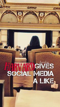 Harvard Gives Social Media a 'Like': Making History at #HarvardWriters2018