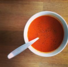 Tomato and Pepper Soup with a Hint of Chilli and Coconut: Low-FODMAP Recipe