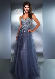 MacDuggal Couture 78710D at Prom Dress Shop  Soo elegant! And if you zoom in, you can see the flowers :)