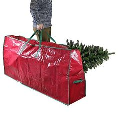 "#Christmas Need buy Red Christmas Artificial Tree Storage Bag Heavy Duty Can Fit a 9ft Tree- Extra Large Plastic Storage Holiday Festive Duffel Bag with Handles For Storing Xmas Trees In The Garage Or Shed - 65"" for Christmas Gifts Idea Sales . Buying Christmas Tree straight coming from a top quality Christmas Tree grower helps you to save useful trip occasion additionally you may steer clear of the wintry, overcrowded trip tree lot only to ..."